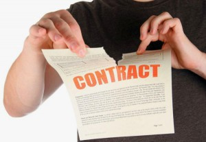 Можно ли расторгнуть предварительный договор